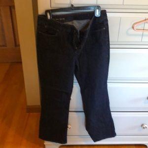 Dark wash boot cut